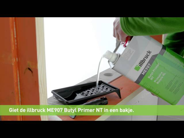 instructievideo illbruck ME407 Butylband NT 150mm Rol 20mtr
