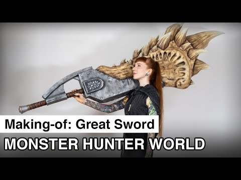 Building a Great Sword from Monster Hunter World Iceborne