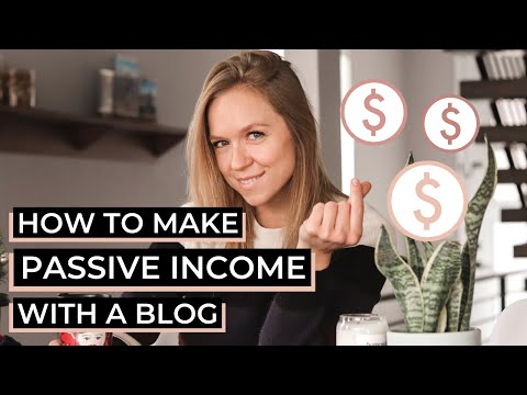 How to Make Money Blogging - Passive Income Advice