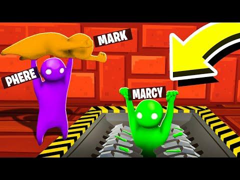 NON CADERE NEL TRITATUTTO! - GANG BEAST w/TheMark e Marcy