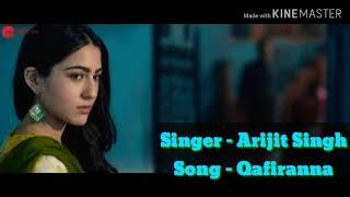 Qaafirana Full Song with Lyrics | Arijit Singh | Amit Trivedi |Whatsapp video by latest love songs |