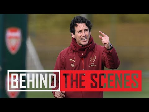 BACK TO WORK | Arsenal squad get set for Newcastle showdown | BEHIND THE SCENES