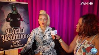 XXXXXCLUSIVE What's Hot In Hip Hop Interview w/ Charli Baltimore