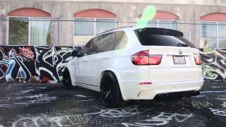 "BMW X5M on 22"" Velos Solo V Forged Wheels"