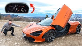 5 INSANE FEATURES OF THE $300,000 MCLAREN 720S!