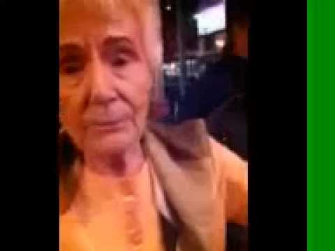 Grandma in Bar Fuck her right in the pussy