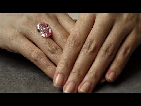 Πουλήθηκε το «Πνεύμα του Ρόδου», το σπάνιο ρωσικό ροζ διαμάντι…