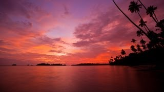 TIME LAPSE :: Tropical Sunrise, Sunset, and Clouds (1080p FULL HD)