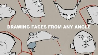 Drawing Faces From Any Angle