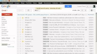 Easy to find old emails on gmail