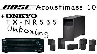 Bose Acoustimass 10 Unboxing (+ Onkyo TX-NR535 (B)) [Deutsch/HD+]