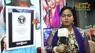 Kala Master at Guinness Award Maanada Mayilada