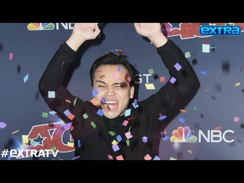 'Extra' with Kodi Lee Right After His Big 'AGT' Win! Plus, Simon Crashes Our Paula Interview
