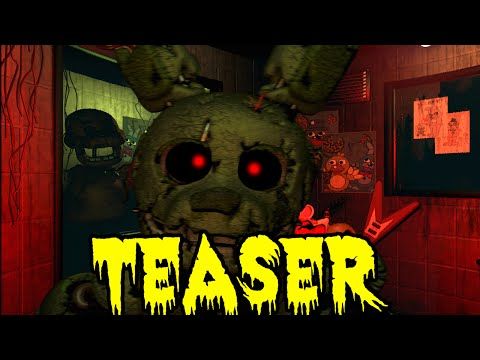 Five Nights At Freddy's 3 New Teaser | Un Mapa Y El Misterio Tras él