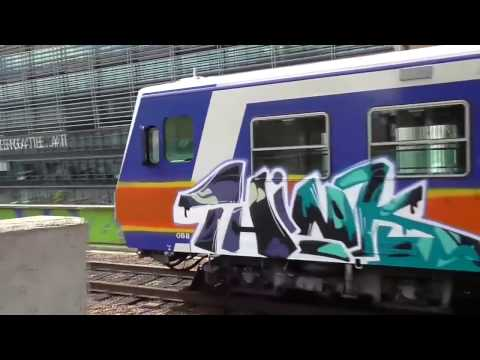 GRAFFITI BOMBING - GRAFFITI VIDEO - GRAFFITI TRAIN - GOPRO GRAFFITI