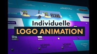 Individuelle Logo Animation für dein Intro, Webinar, Video oder Ad