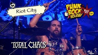 "#120 Total Chaos ""Riot City"" @ Punk Rock Holiday (11/08/2016) Tolmin, Slovenia"