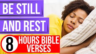 Be still my soul & Rest (Bible verses for sleep with piano music)