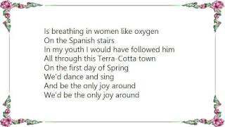 Joni Mitchell - The Only Joy in Town Lyrics