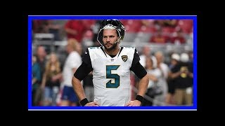 Report: Jaguars actively exploring options at quarterback
