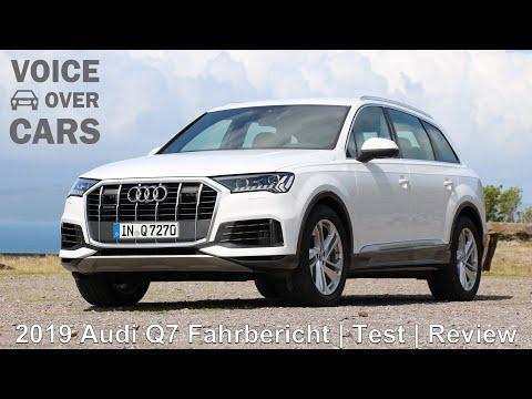 2019 Audi Q7 Fahrbericht Test Review Fahreindruck Lenkung Luftfahrwerk Autofahren in Irland