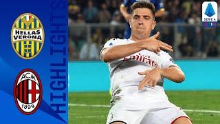 Hellas Verona 0 1 Milan | Piątek Scores The Winner As Milan Beat 10 Man Verona | Serie A