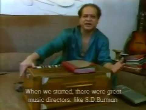 laxmikant of (Laxmikant pyarelal) on  his musical idol Jaikishan of Shankar Jaikishan