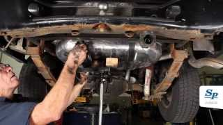 Gmc jimmy chevy blazer fuel tank removal fuel pump replacement fuel pump assembly filler neck and tank replacement for 97 02 blazer and jimmy fandeluxe Choice Image