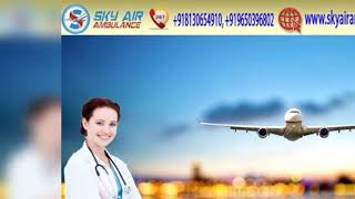 Utilize the Trusty Air Ambulance in Delhi at an Inexpensive Cost