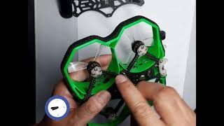FPV drone Beginner - disassemble and clean iflight Protek25
