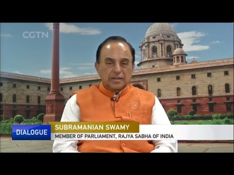 Dr Subramanian Swamy interview to Chinese Media CGTN on BRICS