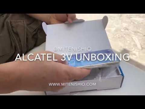 Alcatel 3V Unboxing