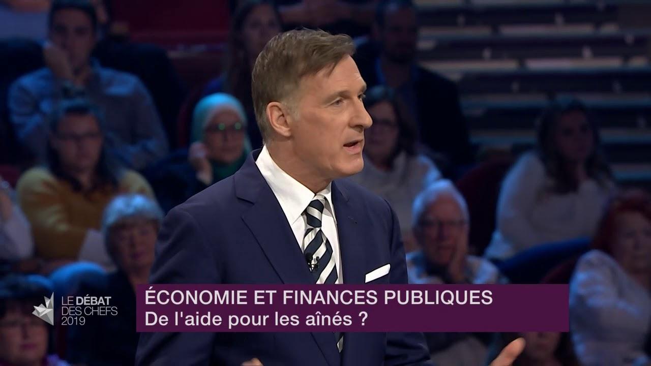 Maxime Bernier répond à la question d'un citoyen sur les mesures pour aider les aînés