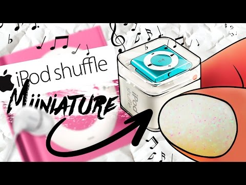 How To Make Miniature Apple IPod Shuffle | CUTE LIFE HACK / DIY