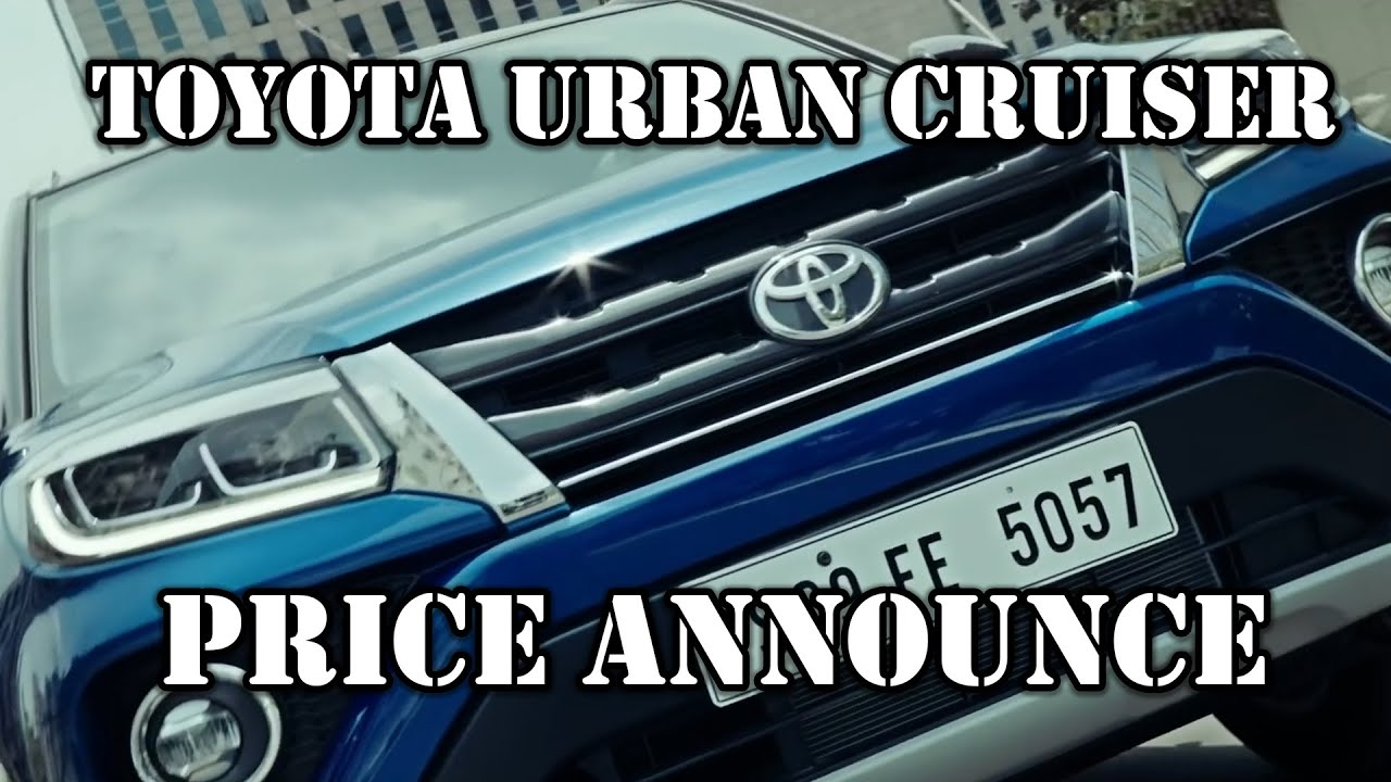 Motoroctane Youtube Video - Toyota Urban Cruiser - Price, Specs, Features, Variants, Warranty