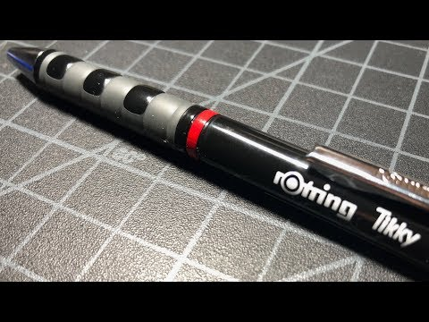 Rotring Tikky Ballpoint Pen Review - Decidedly Average