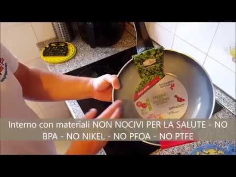 Le uniche padelle che non Uccidono la salute NO TEFLON - NO BPA