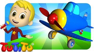 TuTiTu Songs Channel | Airplane | Sing Along For Kids