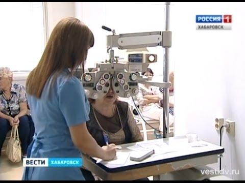 Процесс измерения глазного давления
