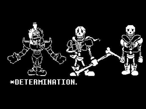 scratch] Papyrus trio battle!+digest[undertale fangame] - смотреть