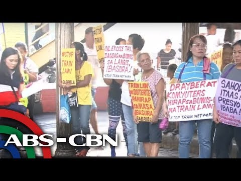 Bandila: Signature campaign kontra TRAIN Law, inilunsad