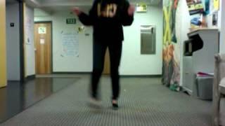 dancing to fancy footwork