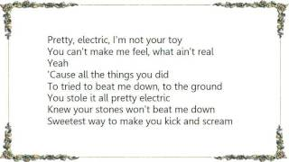 Division of Laura Lee - Pretty Electric Lyrics