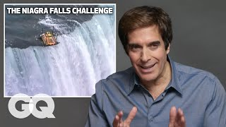 David Copperfield Breaks Down His Most Iconic Illusions | GQ