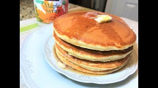 Самые Вкусные АМЕРИКАНСКИЕ ПАНКЕЙКИ. БЛИНЫ.Пышные и Нежные. Pancakes