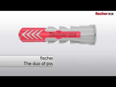 Fischer assortimentsdoos Duopower pluggen