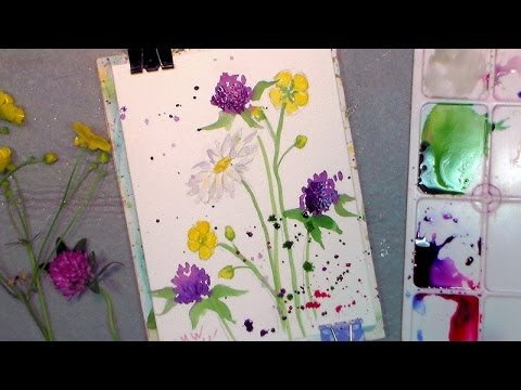 YOU Can Paint These Wildflowers! Yes You! The Frugal