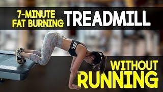 7-Minute Fat Burning TREADMILL (NO RUNNING!)   Joanna Soh