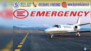Pick Sky Air Ambulance in Bhopal with Helpful Medical Equipment