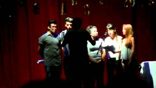 preview picture of video 'Justin junto con Yair Cantan en el Centro Cultural.Munro Vte. Lopez'